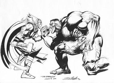 Thor+vs+Hulk