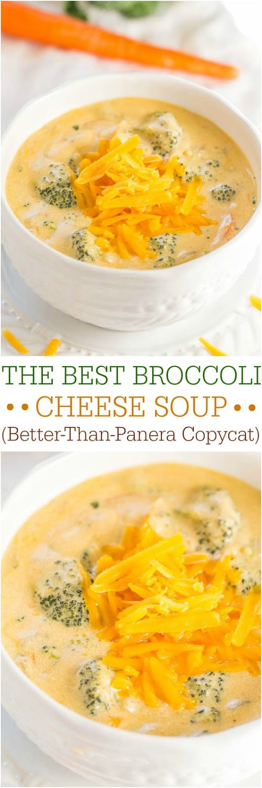 The Best Broccoli Cheese Soup (Better-Than-Panera Copycat) #The_Best #Broccoli #Cheese #Soup #DESSERTS #HEALTHYFOOD #EASY_RECIPES #DINNER #LAUCH #DELICIOUS #EASY #HOLIDAYS #RECIPE #SPECIAL_DIET #WORLD_CUISINE #CAKE #GRILL #APPETIZERS #HEALTHY_RECIPES #DRINKS #COOKING_METHOD #ITALIAN_RECIPES #MEAT #VEGAN_RECIPES #COOKIES #PASTA #FRUIT #SALAD #SOUP_APPETIZERS #NON_ALCOHOLIC_DRINKS #MEAL_PLANNING #VEGETABLES #SOUP #PASTRY #CHOCOLATE #DAIRY #ALCOHOLIC_DRINKS #BULGUR_SALAD #BAKING #SNACKS #BEEF_RECIPES #MEAT_APPETIZERS #MEXICAN_RECIPES #BREAD #ASIAN_RECIPES #SEAFOOD_APPETIZERS #MUFFINS #BREAKFAST_AND_BRUNCH #CONDIMENTS #CUPCAKES #CHEESE #CHICKEN_RECIPES #PIE #COFFEE #NO_BAKE_DESSERTS #HEALTHY_SNACKS #SEAFOOD #GRAIN #LUNCHES_DINNERS #MEXICAN #QUICK_BREAD #LIQUOR