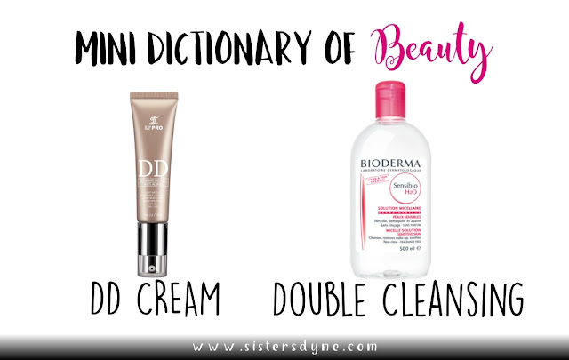DD Cream Double Cleansing