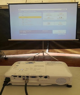 Tempat Jasa Sewa Screen LCD Projector - Layar Proyektor Infocus
