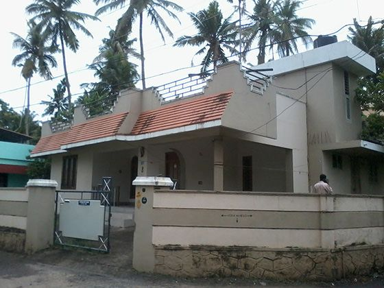 Old model house to contemporary remodeling kerala home Old home renovation in kerala