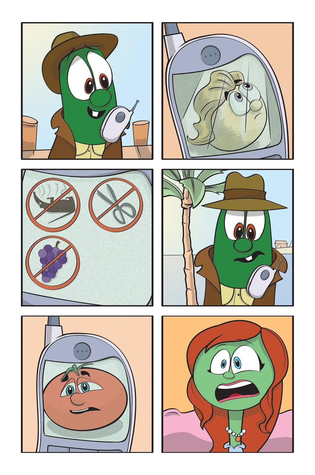 philip a buck coloring veggietales super comics
