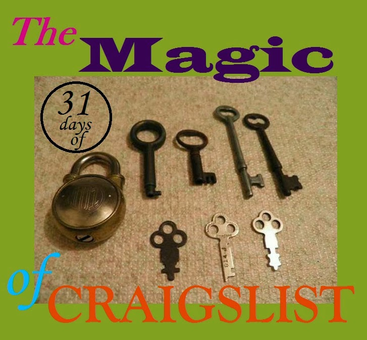 Read all 31 Days of Craigslist here!