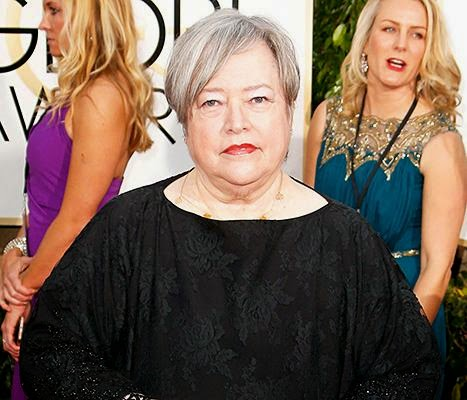 Kathy Bates' night at the 2015 Golden Globes got off as she was Injured and  Screams Out in Pain