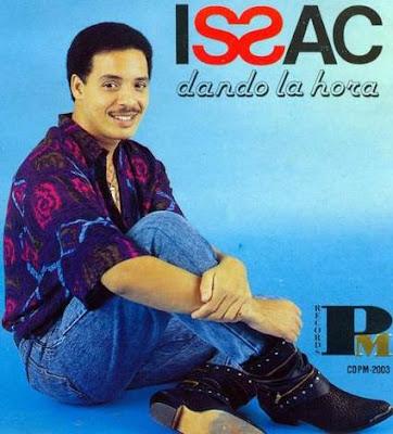 Foto de Isaac Delgado en portada de disco
