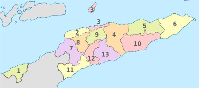 Provinsi di Timor Leste
