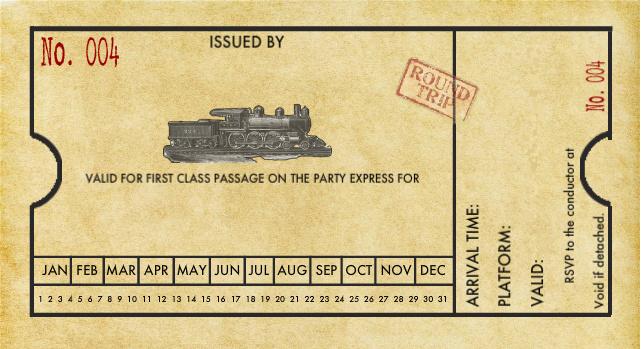 Train Ticket Invitation Template \u2013 orderecigsjuiceinfo
