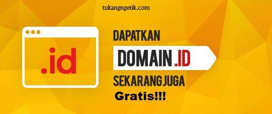 Cara Mendapatkan Domain .id Secara Gratis dari Exabytes