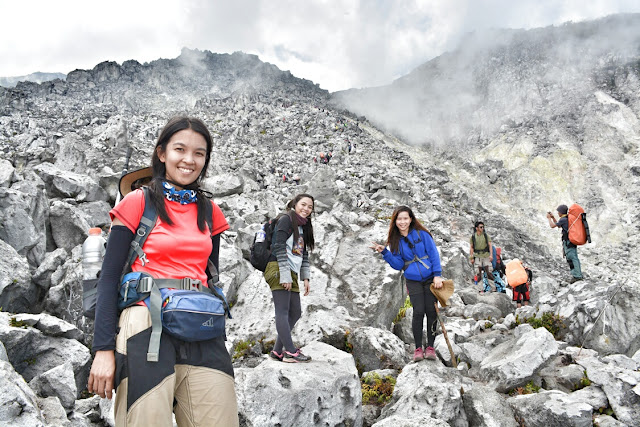 The boulders of Mt. Apo