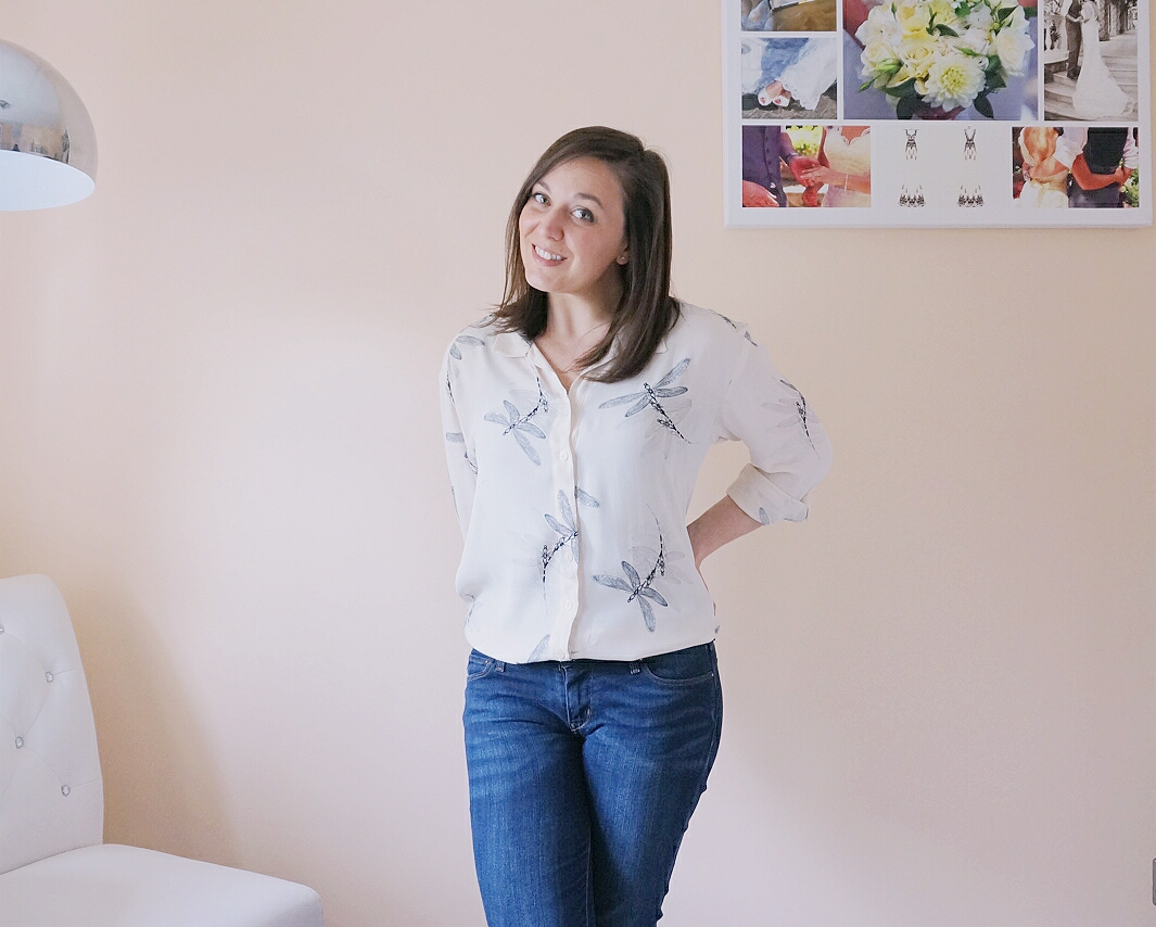 Alex Shirt from Sew Over It My Capsule Wardrobe: City Break eBook Pattern review