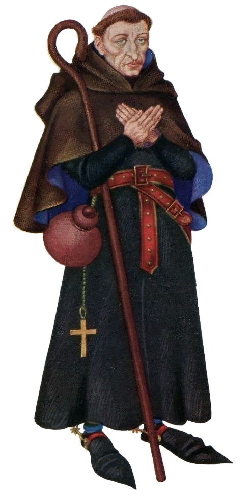 an analysis of the character of the monk in the canterbury tales
