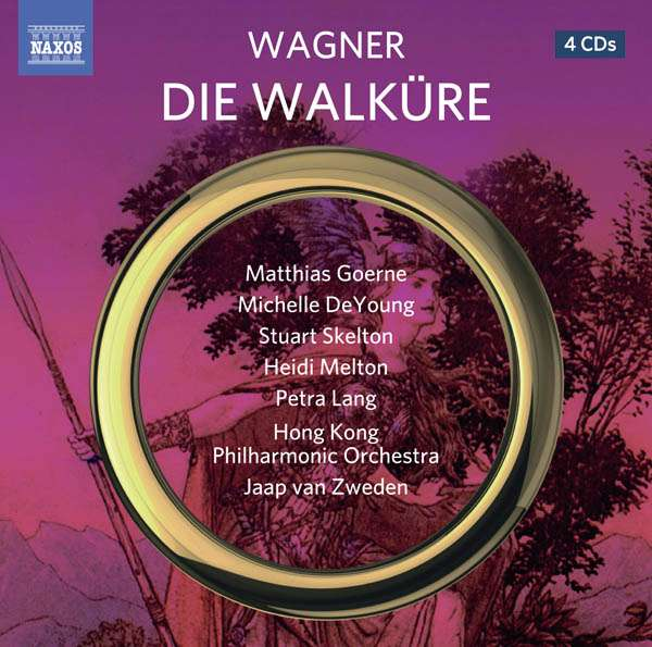 BEST OPERA RECORDING OF 2016: Richard Wagner - DIE WALKÜRE (NAXOS 8.660394-9)