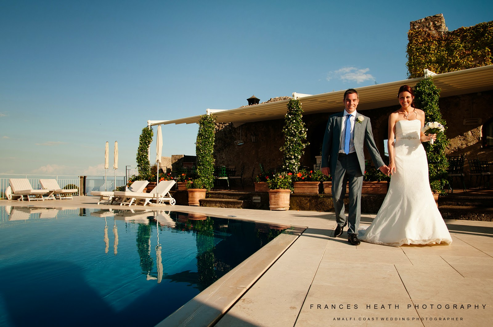 Wedding at Hotel Caruso in Ravello