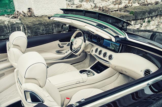 Mercedes S500 Cabriolet thiết kế lịch lãm, sang trọng, đầy đủ tiện nghi và an toàn