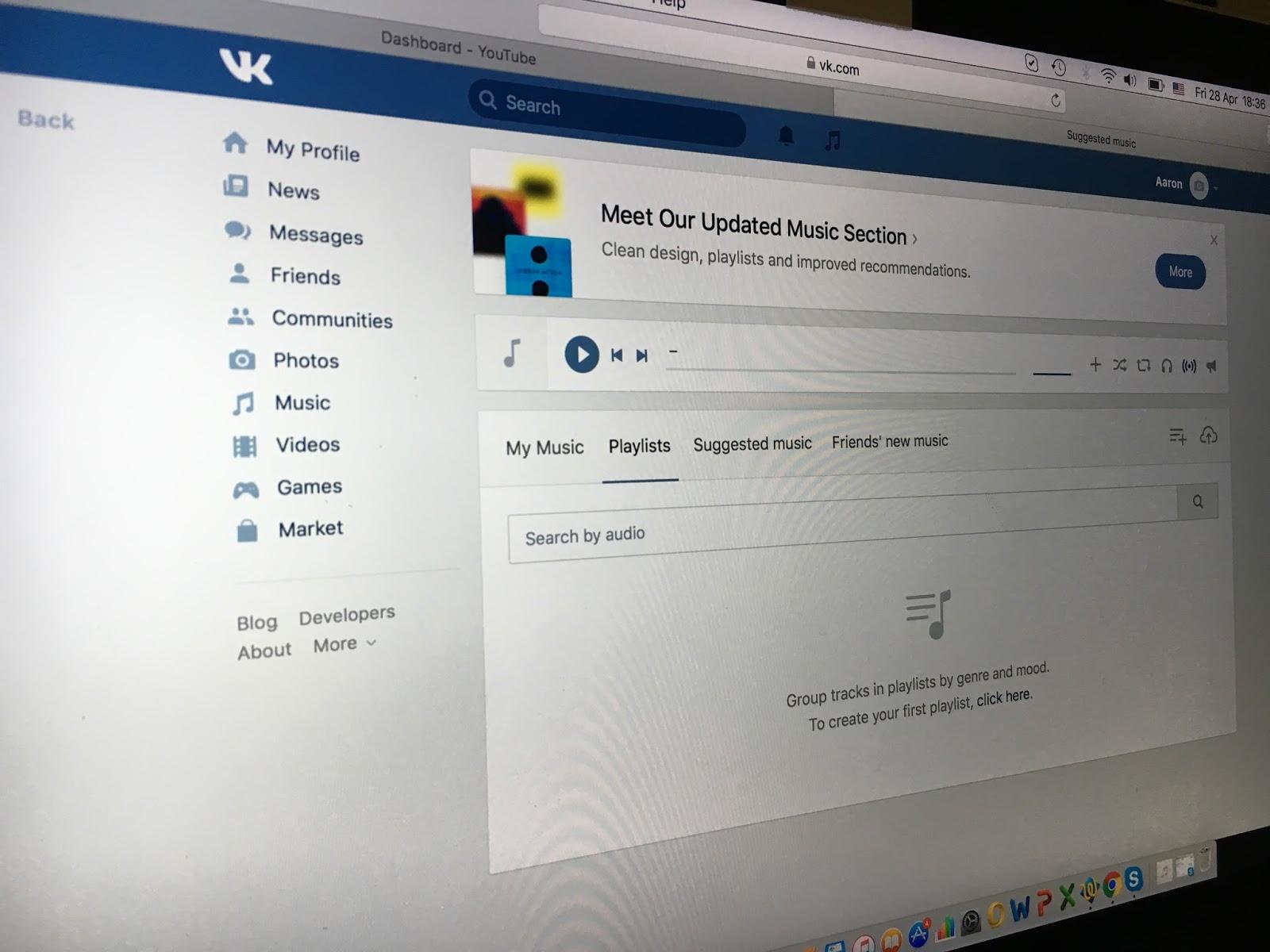 vk music