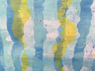 Gel Press Zentangle Art Closeup