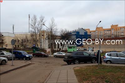 Минск. Улица Рабкоровская