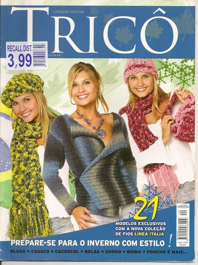 Coleção Arte em Tricô-Revista