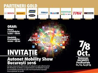 Autonet Mobility Show Bucuresti 2016