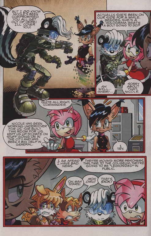 Read online Sonic The Hedgehog comic -  Issue #210 - 8