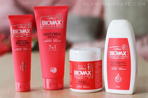 Kosmetyki do włosów BIOVAX Opuntia & Mango | Moja opinia - czytaj dalej »
