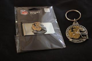 Wholesale Keychains NFL Saints...