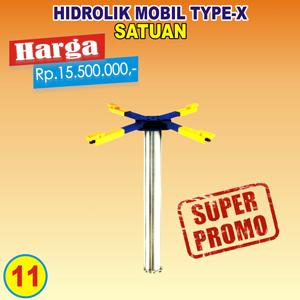 Hidrolik Type-X Satuan