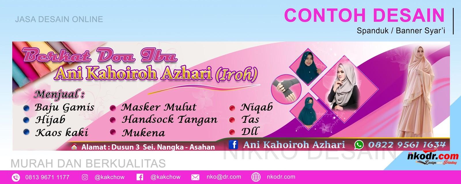 25+ Best Looking For Contoh Desain Spanduk Toko Hijab ...