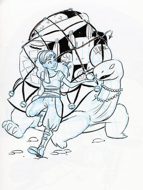 Inktober, black and white, kidlit art, children's book illustration