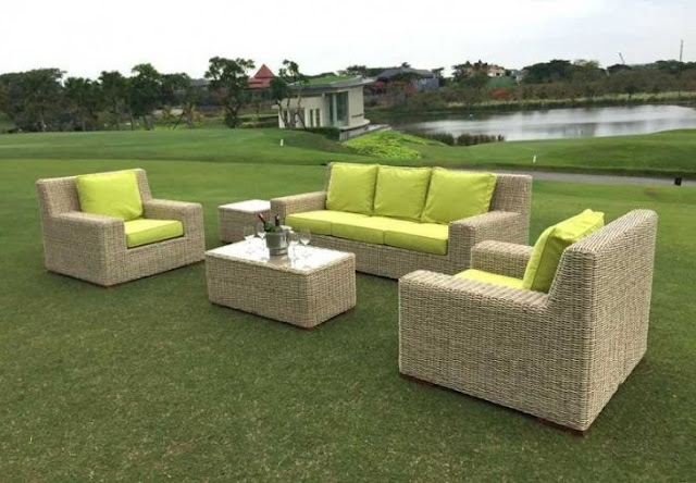 Cove 3 Seater Sofa Suite Outdoor
