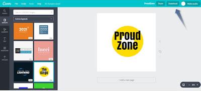 Create free logo step3
