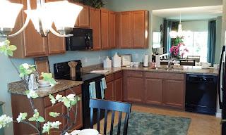 Rapalo model home kitchen