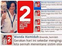 Akhirnya Apa yang dikhawatirkan mbak Wanda Akhirnya Terbukti. Rezim Prabowo memang Otoriter. Nyesel Pilih Prabowo