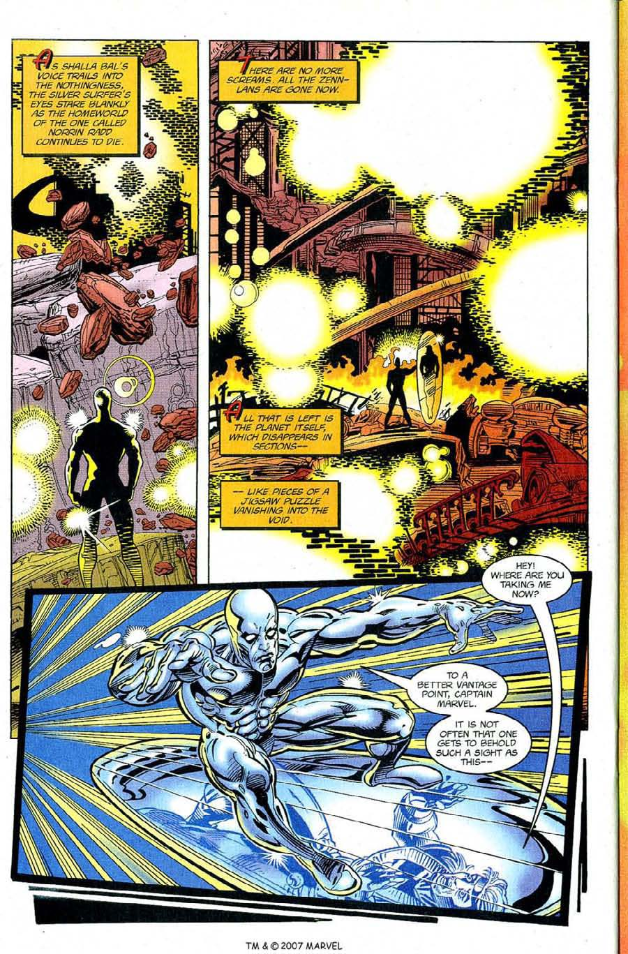 Silver Surfer (1987) Issue #122 #130 - English 28