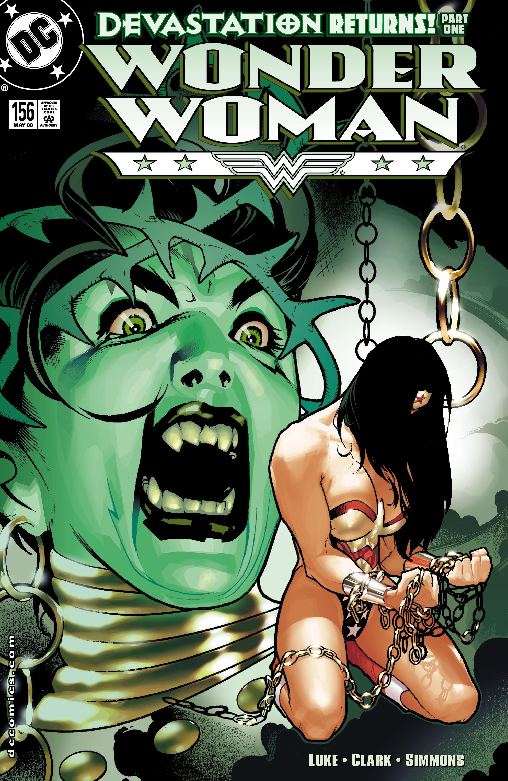 Read online Wonder Woman (1987) comic -  Issue #156 - 1