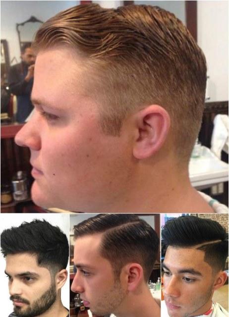 Model Rambut Lancip