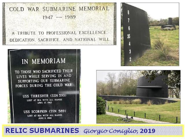 Patriots Point; Mt. Pleasant; South Carolina; submarines; nuclear weapons; Giorgio Coniglio