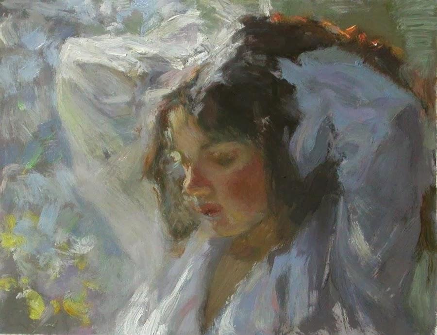 Miriam Briks | Polish Born American Figurative Painter | 1957