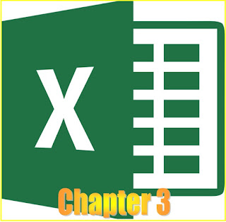MS EXCEL - CHAPTER 3