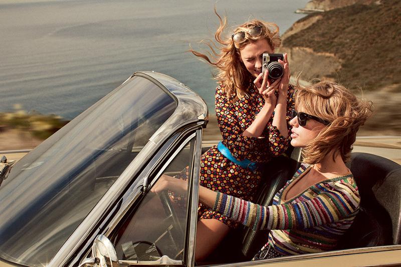 Karlie Kloss e Taylor Swift na Vogue
