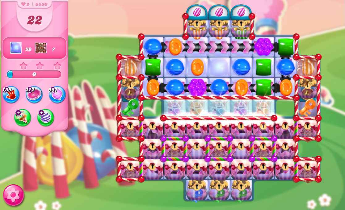 Candy Crush Saga level 6830