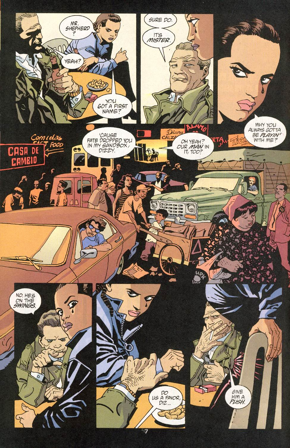 Read online 100 Bullets comic -  Issue #30 - 9