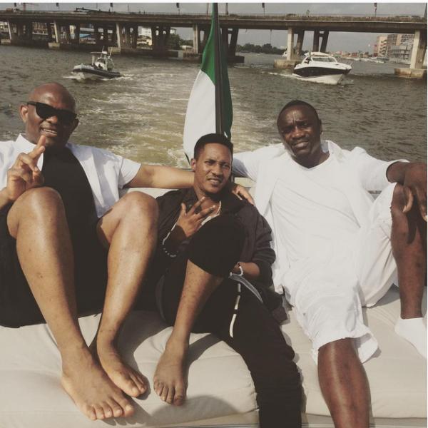 Akon in Lagos