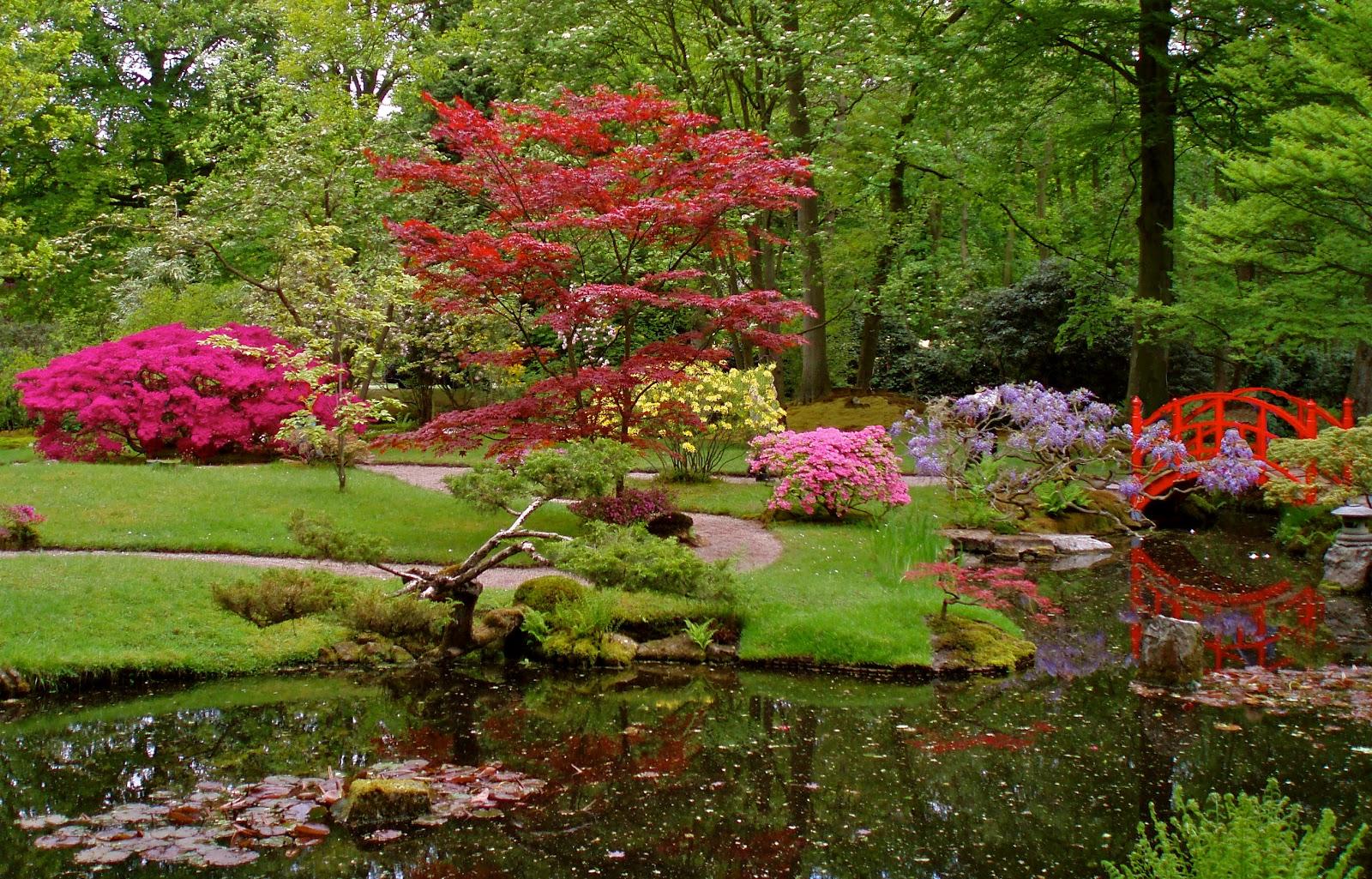 Japanese zen garden japanese garden the hague - How to make a japanese garden ...
