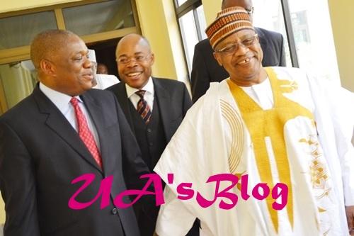 Babangida, Orji Uzor Kalu In Closed-door Meeting In Minna, Niger State
