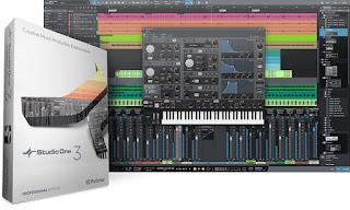 PreSonus Studio One Pro 3.3.2.40899 Multilingual + Keygen โปรแกรมแต่งพลงและแก้ไขเพลง มืออาชีพ