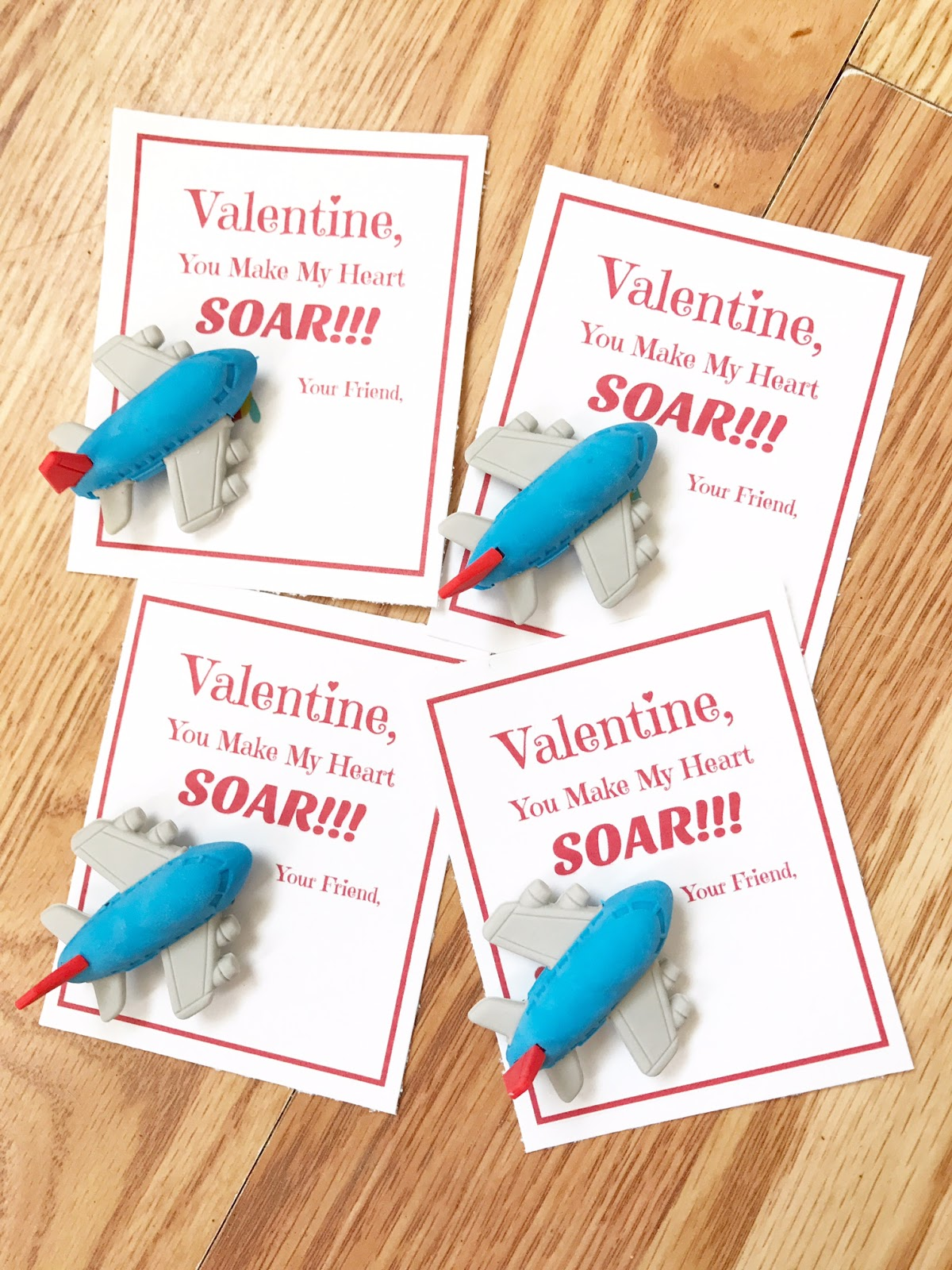 Valentine You Make My Heart Soar Free Printable