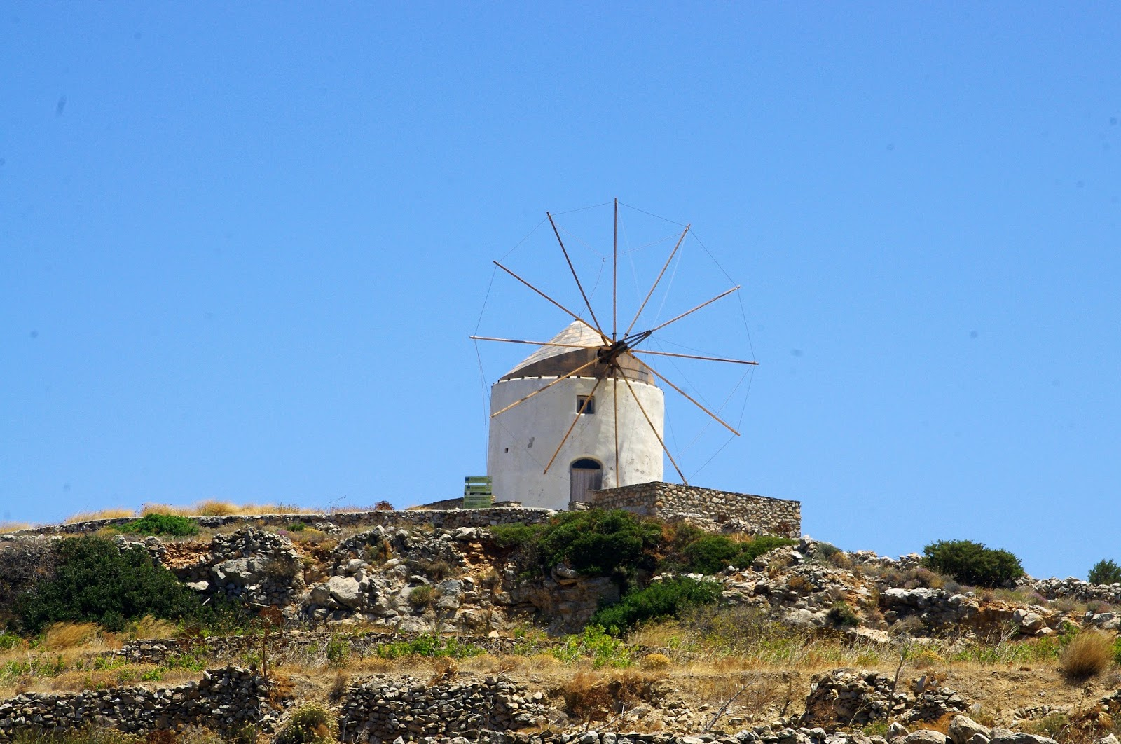 Paros Windmills