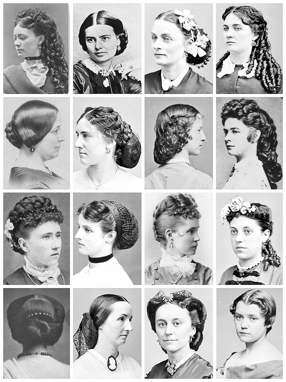 Victorian hairstyles women hairstyle of nowdays poor victorian hairstyles fade haircut baditri Gallery