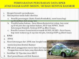 Biaya Rubah Bentuk atau Ganti Warna Data STNK Plat B ...